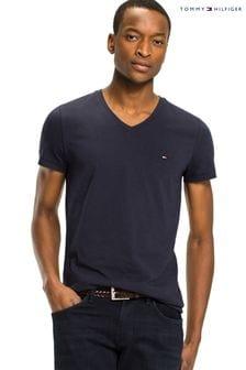 Tommy Hilfiger Core Flag V-Neck T-Shirt
