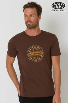 Animal Brown Supply Graphic T-Shirt