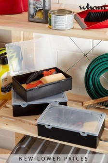 Set of 3 Organiser Boxes by Wham