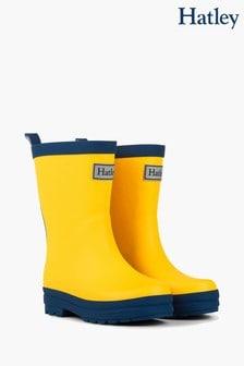 Boys Yellow Wellies   Boys Yellow
