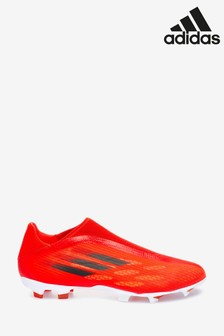adidas Red X P3 Laceless Firm Ground Football Boots