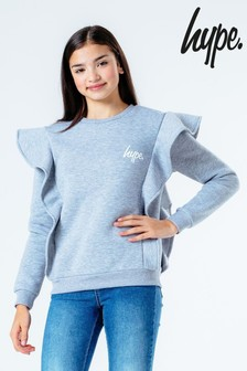 Hype. Frill Sweat Top