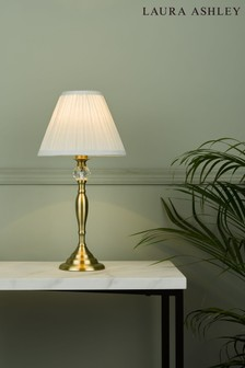 Laura Ashley Ellis Satin Painted Spindle Table Lamp