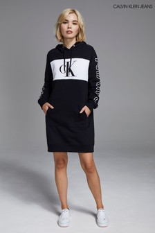 Calvin Klein Jeans Blocking Statement Hoody Dress