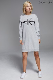 Calvin Klein Jeans Taping Monogram Dress