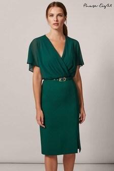 Phase Eight Green Alba Dress