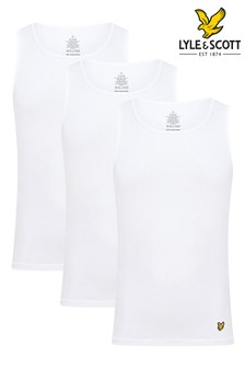 Lyle & Scott 3 Pack Lounge Vests