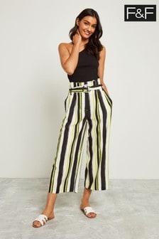 F&F Multi Stripe Culotte