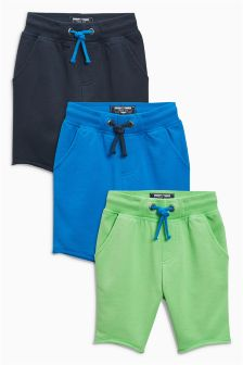 Longline Shorts Three Pack (3mths-6yrs)