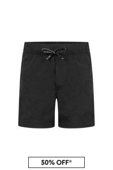 Dolce & Gabbana Kids Baby Boys Black Shorts