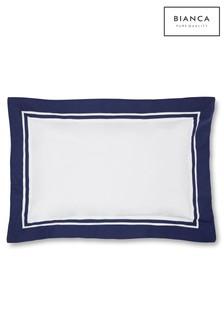 Berkeley Tailored Cotton Oxford Pillowcases by Bianca