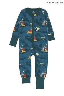 Polarn O. Pyret Blue GOTS Organic Lady & The Tramp Pyjamas
