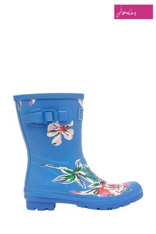Joules Molly Mid Height Printed Wellies