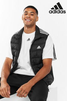 adidas Essential 3 Stripe Down Vest
