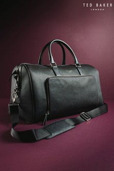 Ted Baker Black PU Holdall