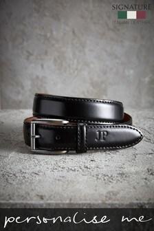 Personalised Signature Leather Belt