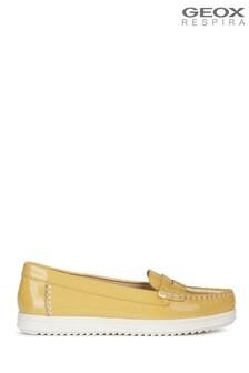 Geox Women's Genova Yellow Shoes