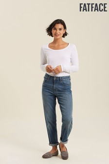 FatFace Angie Smith Edit Blue Chesham Girlfriend Jeans
