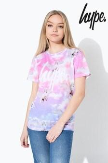 Hype. Unicorn Skies Kids T-Shirt