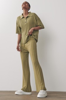 Ribbed Co-ord Trousers