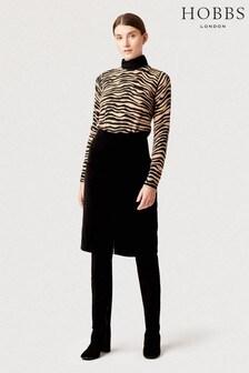 Hobbs Black Arnelle Skirt