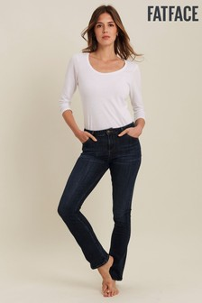 FatFace Selsey BlaueBoot Cut Jeans