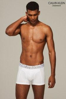 Calvin Klein Boxershorts mit Logo, weiß