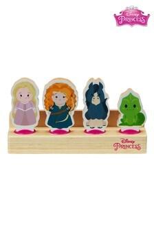 Disney™ Princess Wooden Princess 4 Figure Set