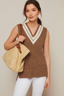 Knitted Cricket Vest