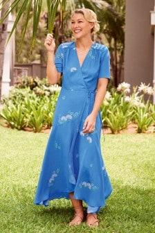 Emma Willis Printed Wrap Dress