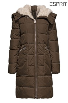 Esprit Green Thinsulate Padded Coat