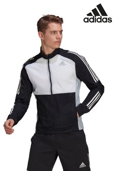 adidas Own The Run Zip Through Track Top