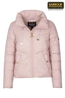 Barbour® International Padded Cropped Kendrew Jacket