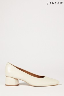 Jigsaw Arah High Vamp Square Heel Shoes