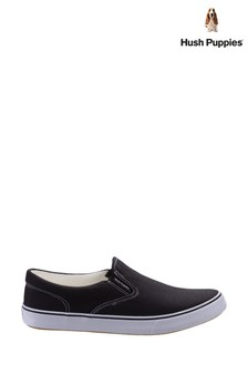 Hush Puppies Black Byanca Slip-On Shoes