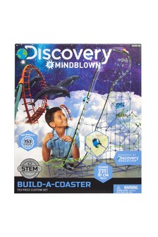 Discovery #Mindblown Kids Building Set Roller Coaster 753pc