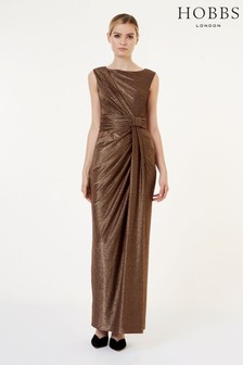 Hobbs Copper Mia Maxi Dress