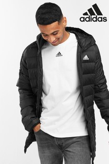 adidas Essential 3 Stripe Down Parka