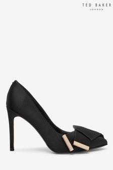 Ted Baker Black Bow Court Heel Shoes