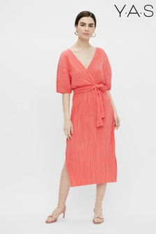 Y.A.S Sustainble Recycled Polyester Olinda Midi Dress