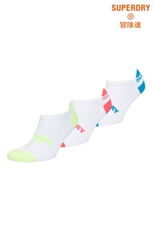 Superdry Coolmax Graphic Trainer Socks Three Pack