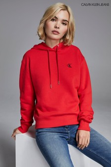 Calvin Klein Jeans Embroidered Logo Hoody