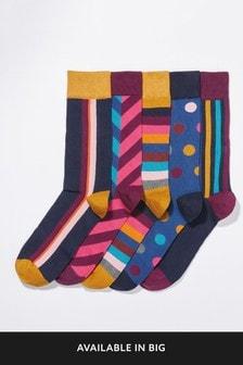 Geo Socks Five Pack