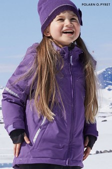 Polarn O. Pyret Purple Waterproof Padded Winter Coat