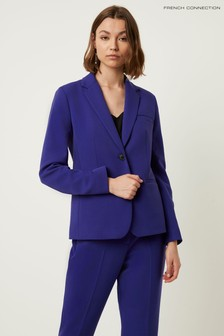 French Connection Blue Sundae Suiting Single Jacket