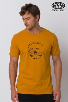 Animal Mustard Migrate Graphic T-Shirt