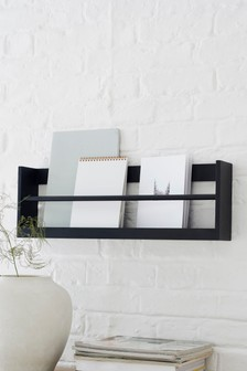 Small Wall Mountable Magazine Rack