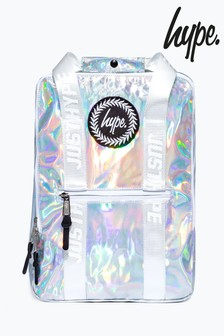 Hype. Holographic Boxy Backpack