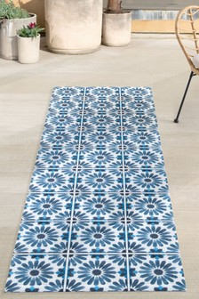 Vinyl Tiles Indoor/Outdoor Runner