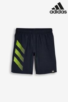 adidas Bold 3 Stripe Swim Shorts